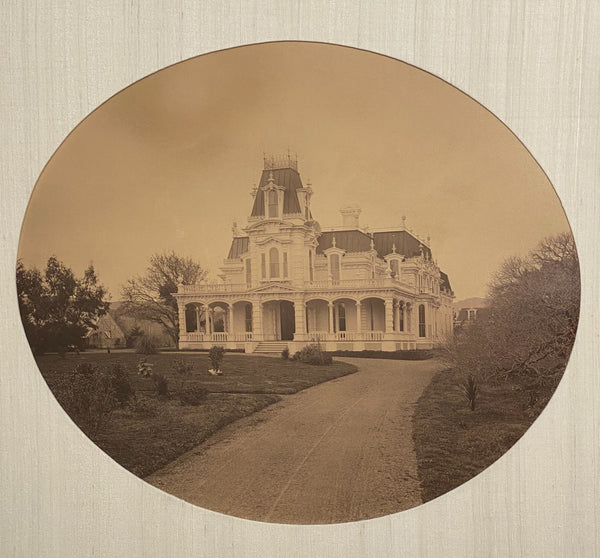 Photograph of a Victorian House, Circa 1870