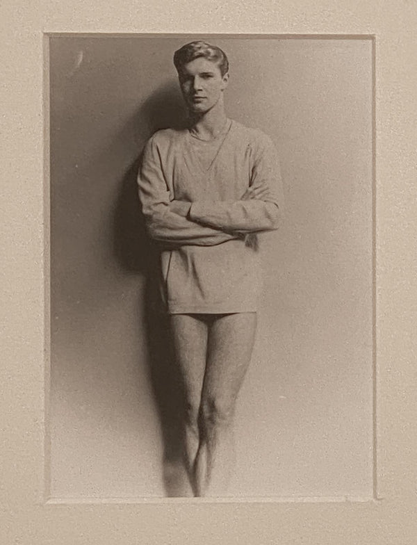 Vintage Photo of Young Man by Tom Bianchi, American Circa 20th Century