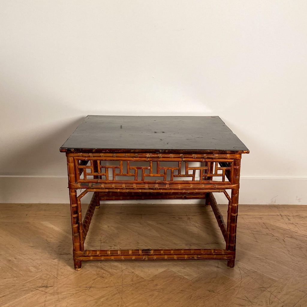 19th Century Bamboo Table, China