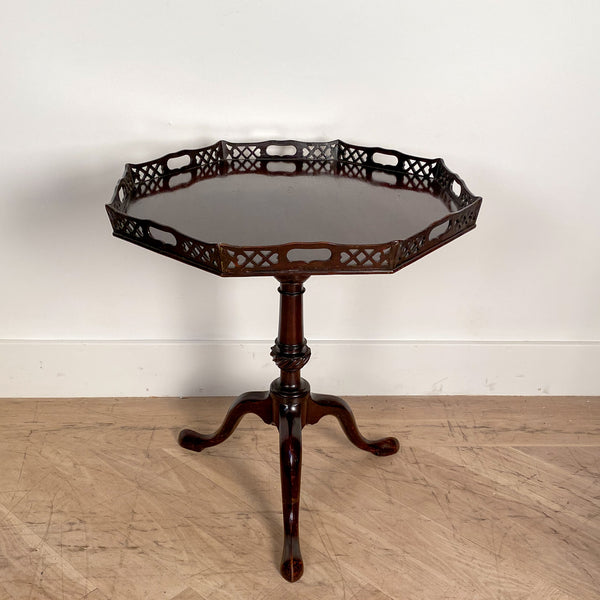 Chinese Chippendale Tea Table, England Circa 1800