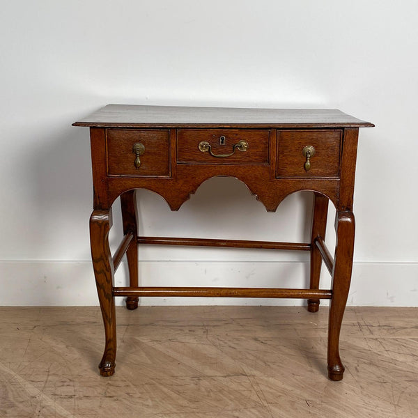 English Georgian Oak Low Boy, Circa 1780