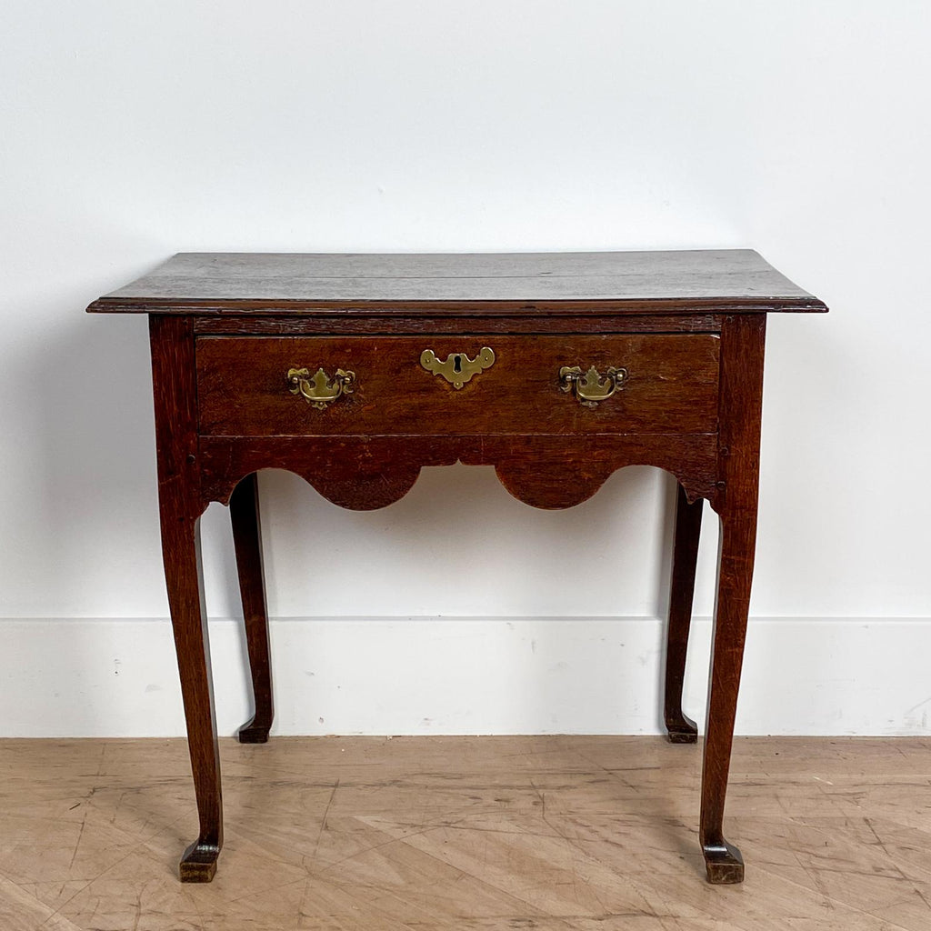 English Oak Low Boy, Circa 1780