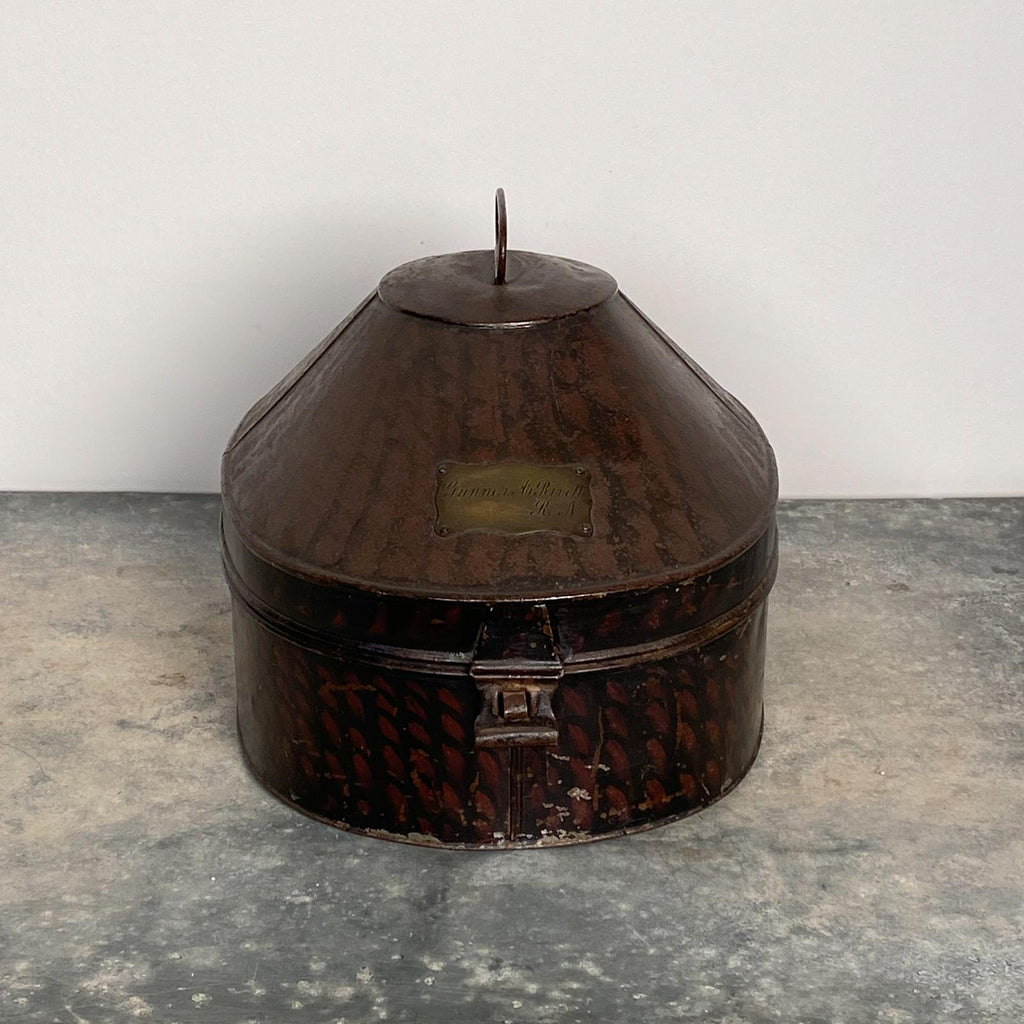 Tole Hat Box, England 19th Century