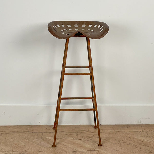 Tractor Seat Bar Stool, American Circa 19th Century