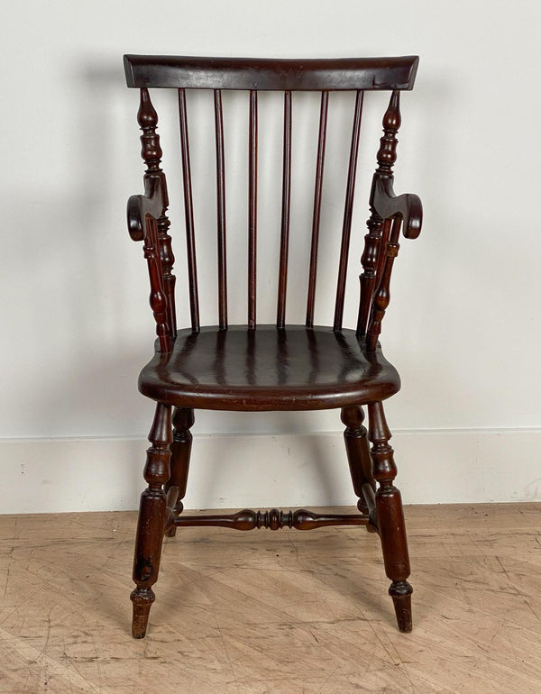 Mahogany Windsor Armchair, Jamaica Circa 19th Century