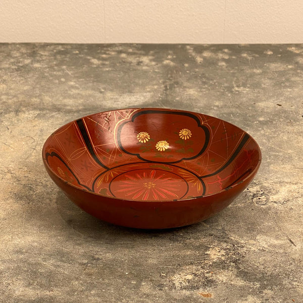 Circa 19th Century Japanese Lacquer Bowl