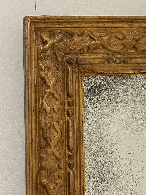 18th Century Gilt Wood Mirror, Italy