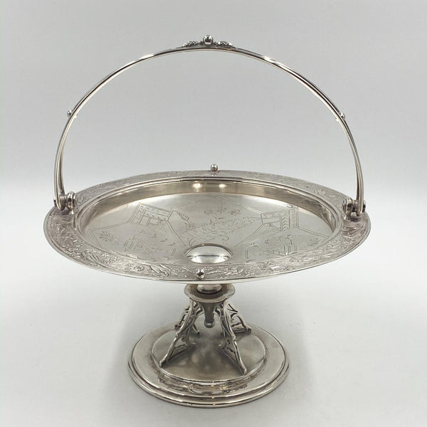 Aesthetic Movement Cake Stand, 19th Century American