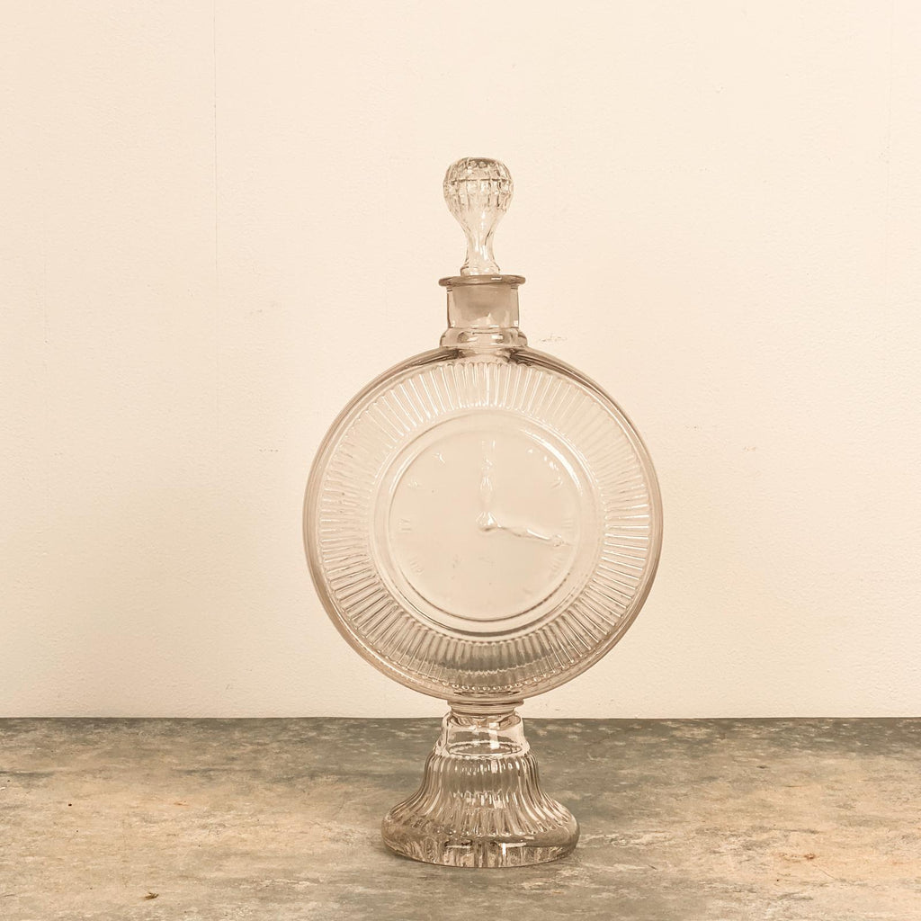 Clock Bottle, 19th Century