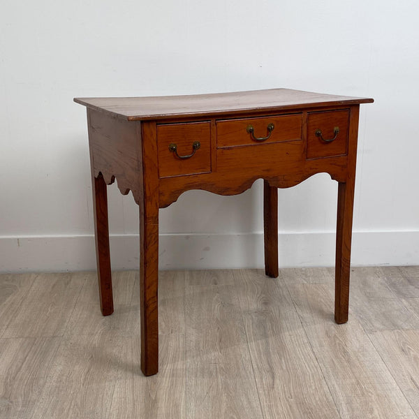 Elm Dressing Table, England Circa 1800