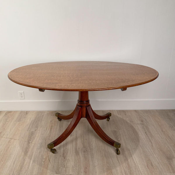 Circa 1790 Oval Breakfast Table, England