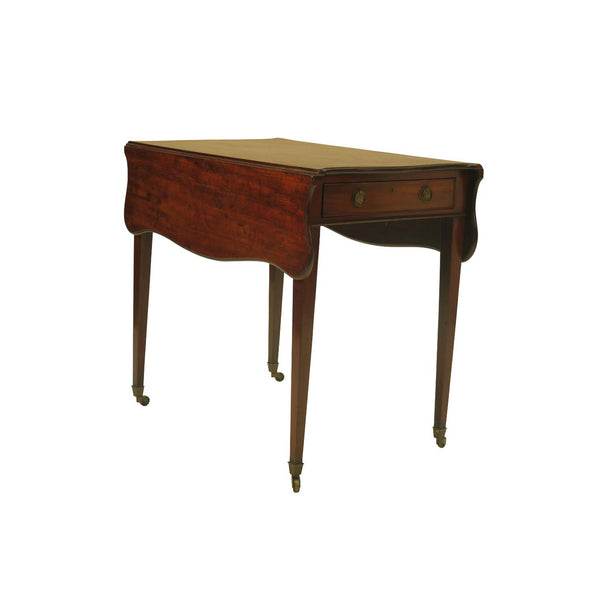 George III Mahogany Pembroke Table circa 1800
