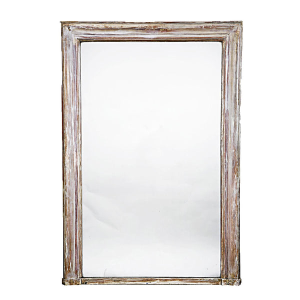 Grey painted Louis Philippe Mirror circa 1860
