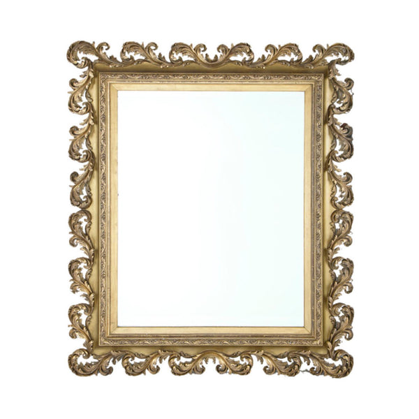 A 19th century Italian Massive Baroque Style Mirror, 77″ x 66″
