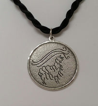 Load image into Gallery viewer, Custom Pendant with Farm or Ranch Logo - Sterling Silver