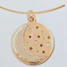 Load image into Gallery viewer, Custom Pendant with Farm or Ranch Logo - 14K Yellow and White Gold with Diamond Accents