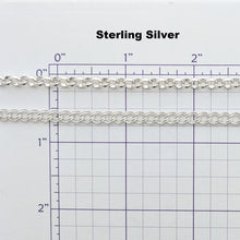 Load image into Gallery viewer, Sizing grid Sterling Silver Bracelets