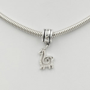 Tell Your Story Charms - Pandora Style  Sterling Silver Compact Spiral