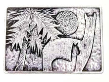 Load image into Gallery viewer, Custom Belt Buckle with Farm or Ranch Logo - Sterling Silver