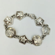 Load image into Gallery viewer,  Custom Bracelet with Farm or Ranch Logo - Sterling Silver