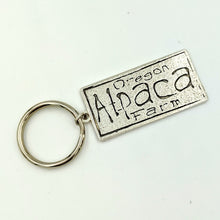 Load image into Gallery viewer,  Custom Key Ring with Farm or Ranch Logo - Sterling Silver