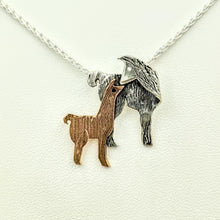 Load image into Gallery viewer, Llama Kiss Pendant