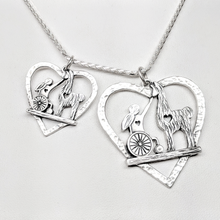 Load image into Gallery viewer, Custom Pendants with Farm or Ranch Logo - 2 sizes - Sterling Silver
