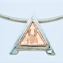 Load image into Gallery viewer, Custom ALSA Award Champion Charm Pendant - Elite Grand Champion Sterling Silver with 14K Rose Gold Accent