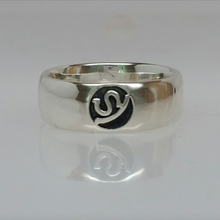 Load image into Gallery viewer, Custom Ring with Farm or Ranch Logo - Sterling Silver