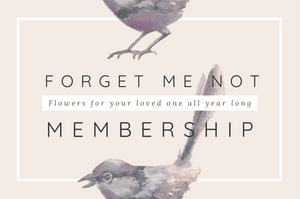 FORGET-ME-NOT MEMBERSHIP-YEARLY