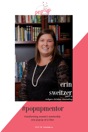 Pop-Up Mentor: Erin Sweitzer - Self-Care During the Work Week