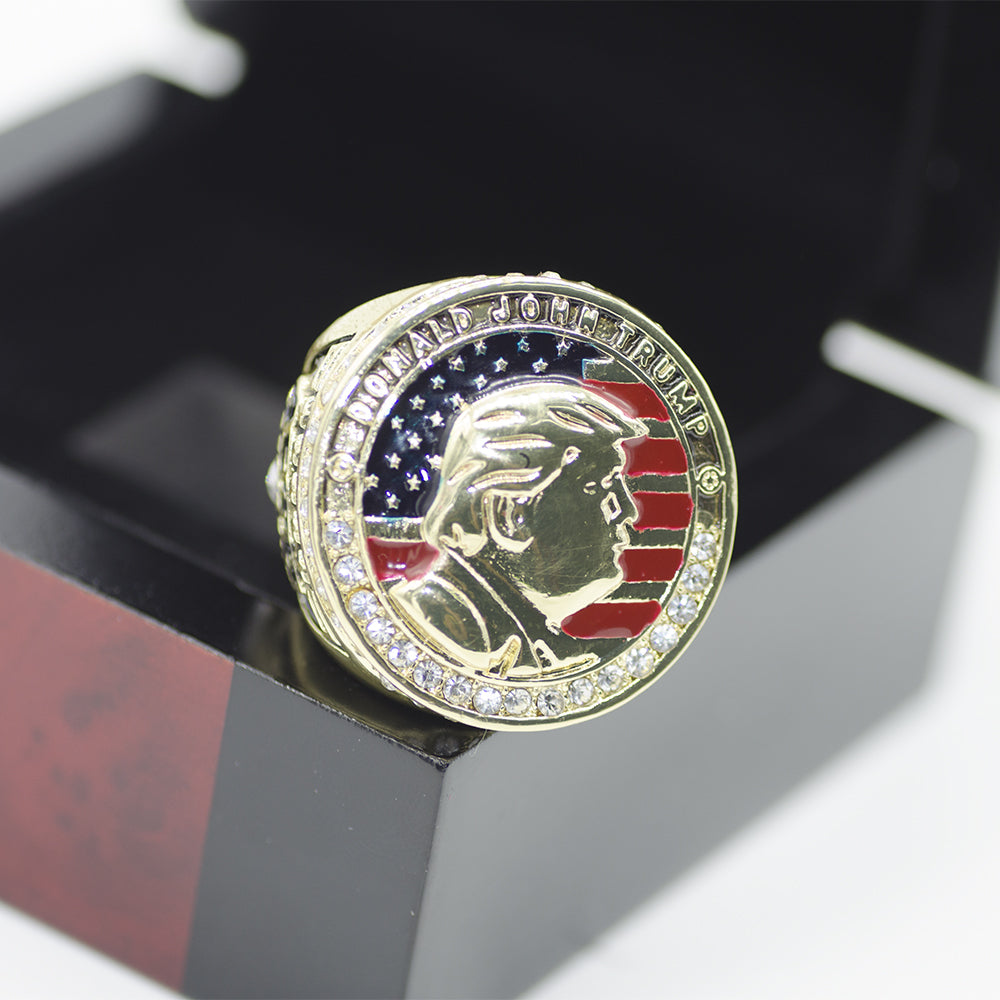 DONALD TRUMP PRESIDENTIAL RE ELECTION SUPPORT RING