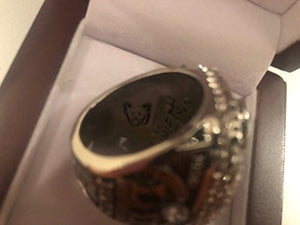 Philadelphia Eagles NICK FOLES Superbowl LII Replica Ring with Display Box