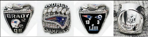 Buy American Buy American Custom Made : New England Patriots Super Bowl LIII Ring, NFL 2018-2019