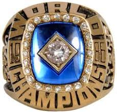 NEW YORK METS 1986 WORLD SERIES REPLICA RING