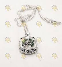 Philadelphia Eagles Cheerleader's Superbowl LII Replica Ring Pendant …