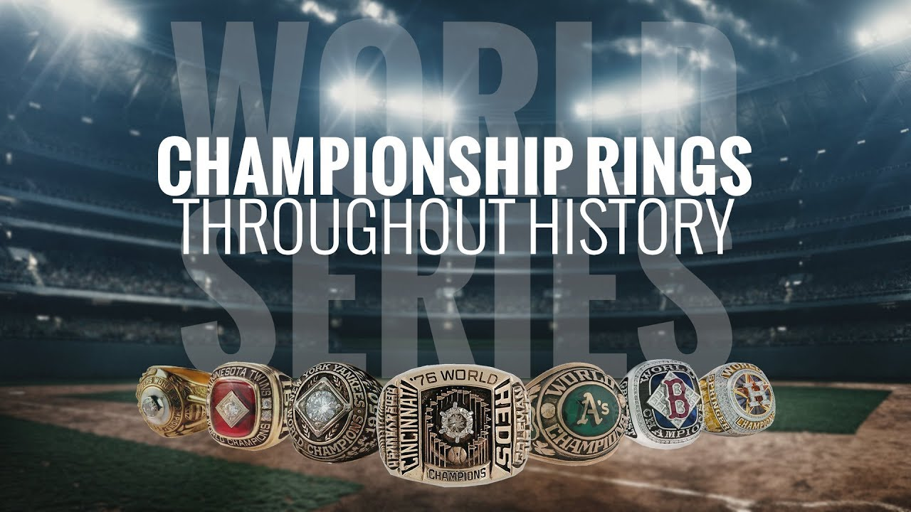 BUY AMERICAN Highist Quality MLB WORLD SERIES RINGS COMPLETE SET
