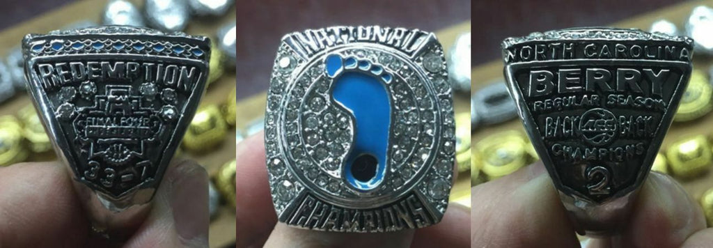 2017 NORTH CAROLINA TAR HEELS NCAA CHAMPIONSHIP RING