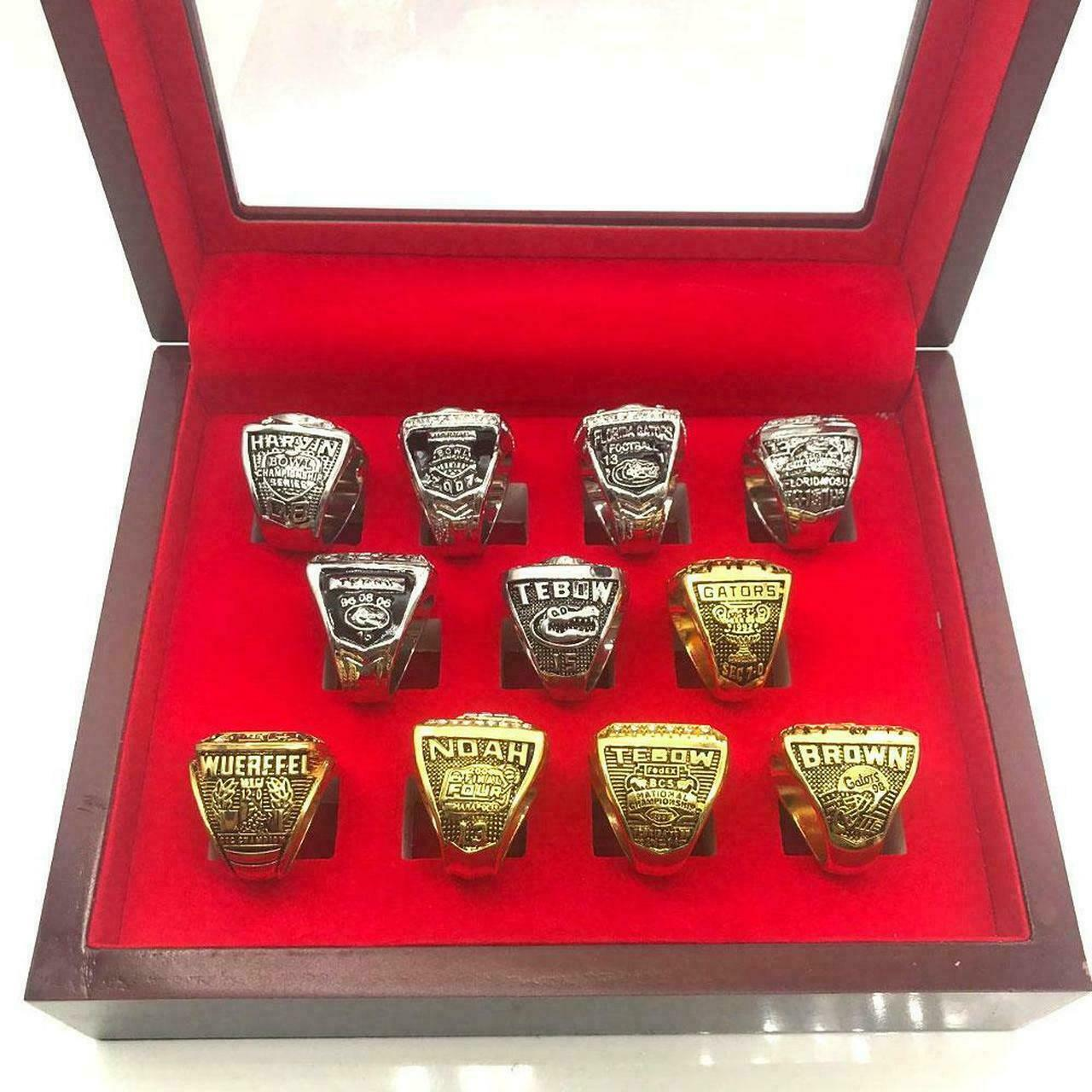 COMPLETE 53 pcs Football SUPER BOWL Championship Ring Set