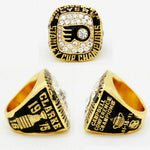 PHILADELPHIA FLYERS STANLEY CUP CHAMPIONSHIP RING WITH DISPLAY BOX