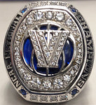 VILLANOVA THREE (3) TIME NCAA CHAMPIONSHIP RING WITH DISPLAY CASE