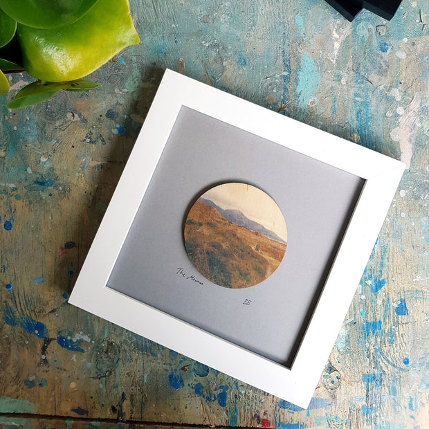 Mournes from Murlough wooden print