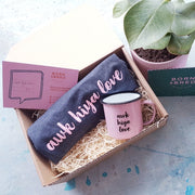 pink awk hiya love gift box