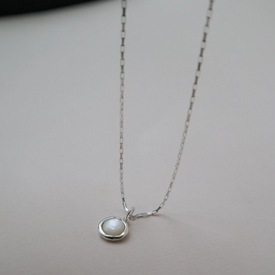 Sigrid sterling silver necklace
