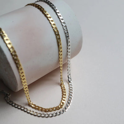 sterling sliver chain necklace