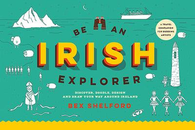 Irish explorer kids activity book