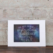 I WAS MADE FOR ANOTHER WORLD - CS LEWIS PRINT