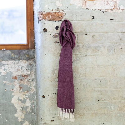 mulberry lambswool scarf