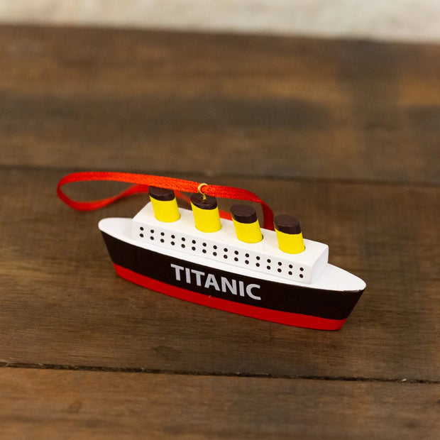 titanic tree decoration