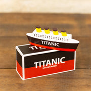 small titanic model & box